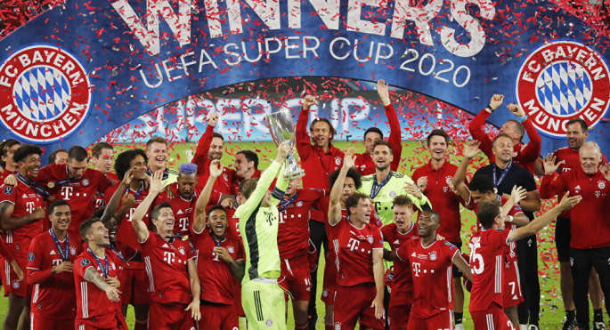 Minhenes Bayern triumfē UEFA Superkausā data-verified=